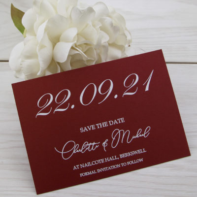 Foiled Save the Date 002