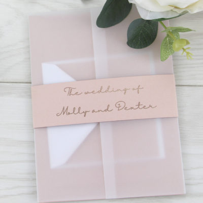 Darby Wedding and Evening Invitation