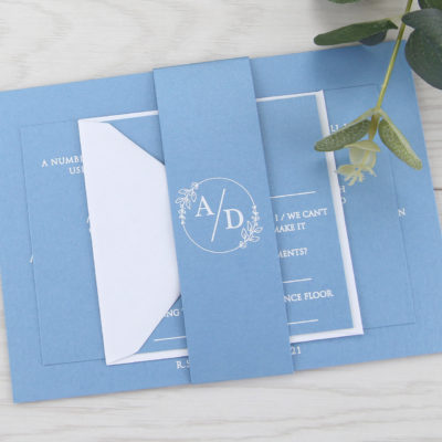 Kendall Wedding and Evening Invitation