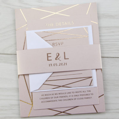 Zuri Wedding and Evening Invitation