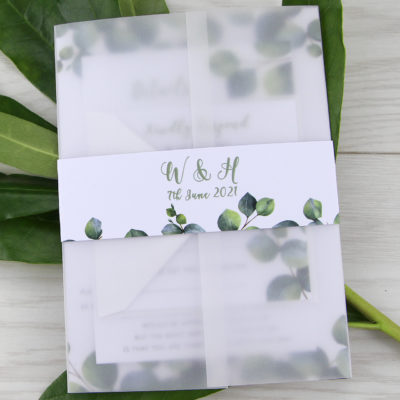 Breeze Wedding and Evening Invitation