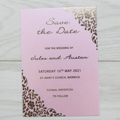 Austen Save the Date