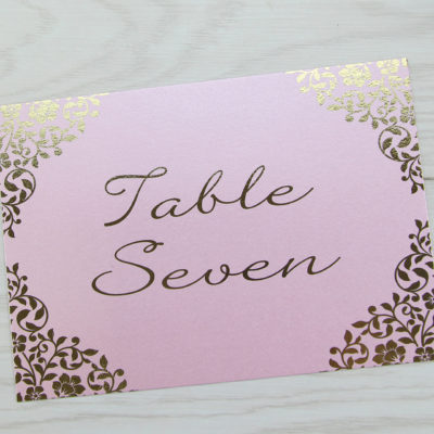 Austen Table Name / Number