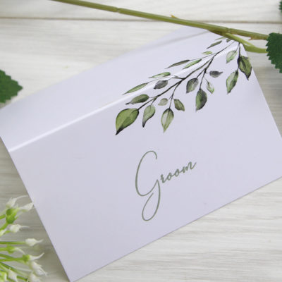 Willow Place Card