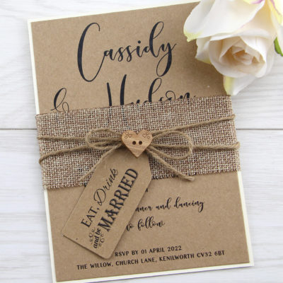 Cassidy Wedding Invitation