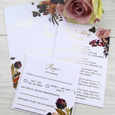 Shelby Wedding Invitation