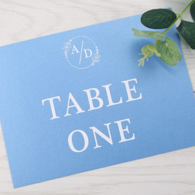Kendall Table Name / Number
