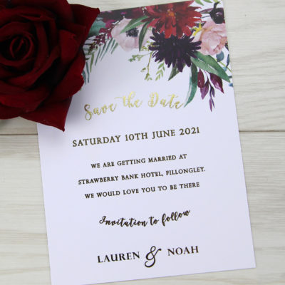 Lauren Claret Save the Date