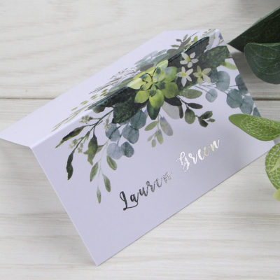 Lauren Greenery Place Card