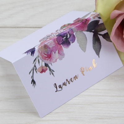 Lauren Pinks Place Card