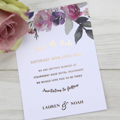 Lauren Pinks Save the Date