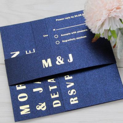 Morton Wedding and Evening Invitation