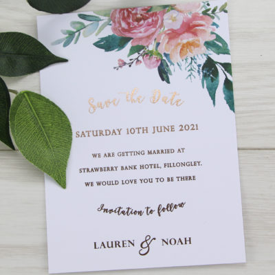 Lauren Coral Save the Date