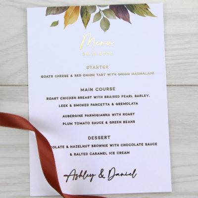 Ashley Menu