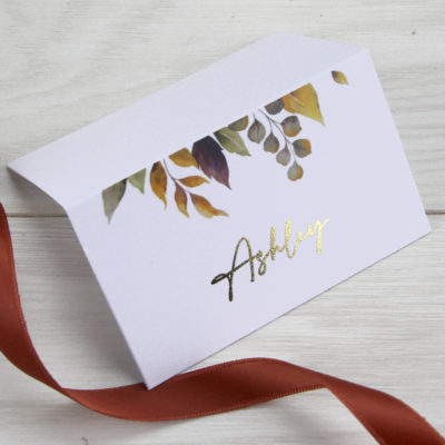Ashley Place Card