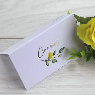 Carmel Place Card