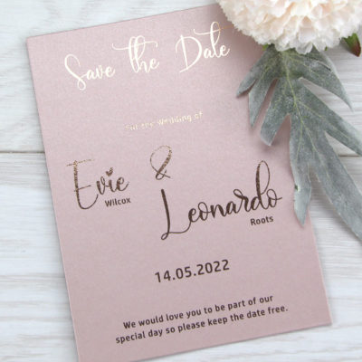 Evie Save the Date
