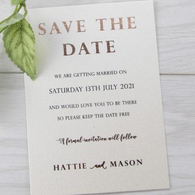 Mason Save the Date