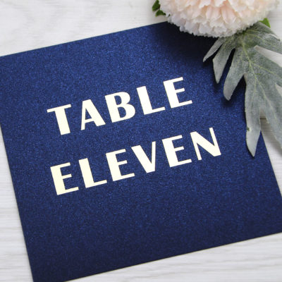 Morton Table Name / Number
