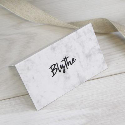 Blythe Place Card