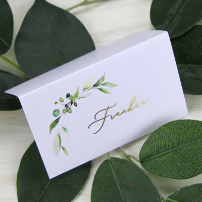 Frankie Greenery Place Card