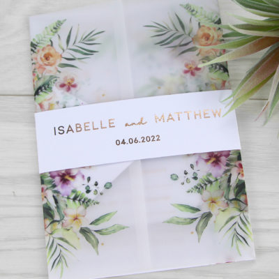Isabelle Wedding Invitation