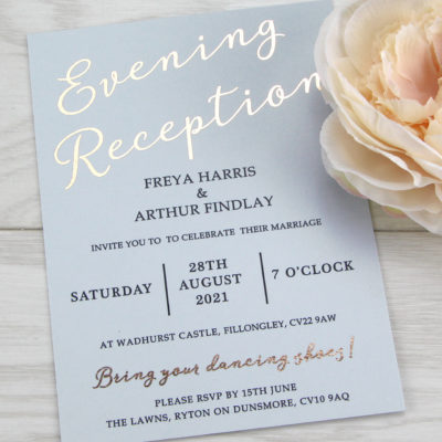 Skyler Evening Invitation