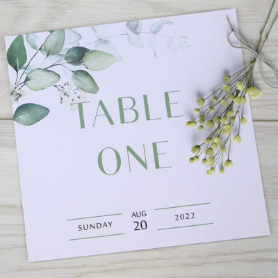Emma Table Name / Number