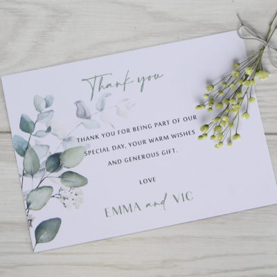 Emma Thank you Card