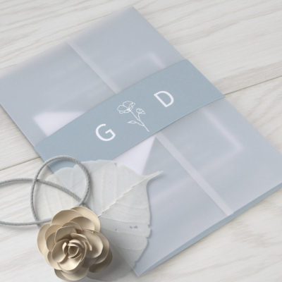 Gina Wedding and Evening Invitation
