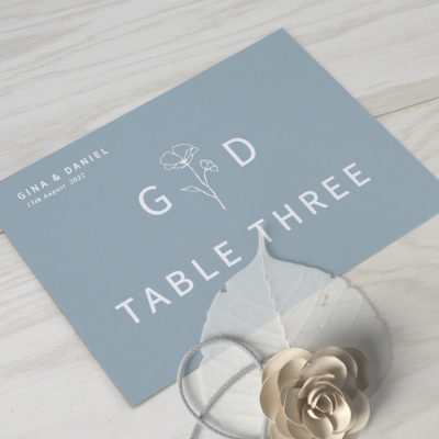 Gina Table Name / Number