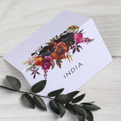 India Place Card