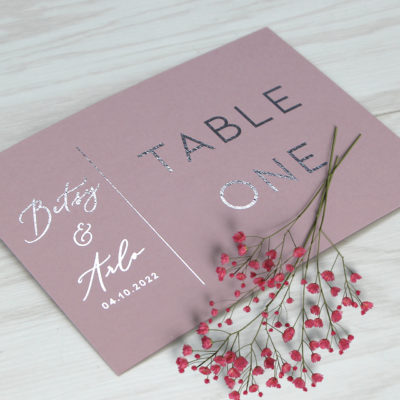 Betsy Table Name / Number