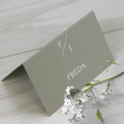 Freda Place Card