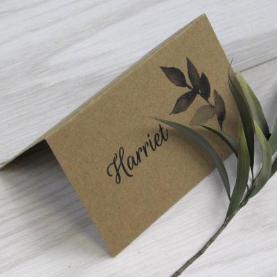 Harriet Place Card
