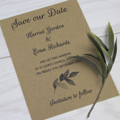 Harriet Save the Date