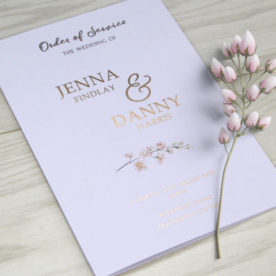 Jenna Order of Service
