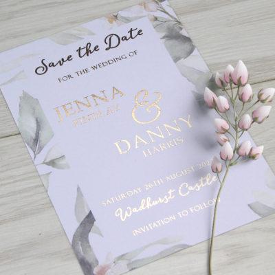 Jenna Save the Date