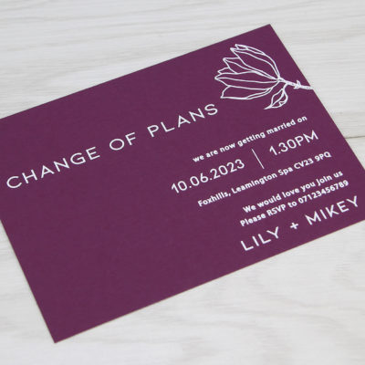Lily Change of Plan