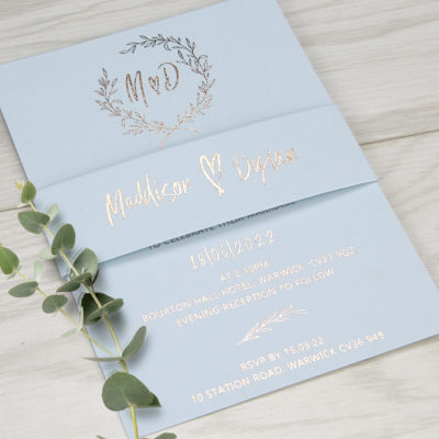 Maddison Wedding and Evening Invitation