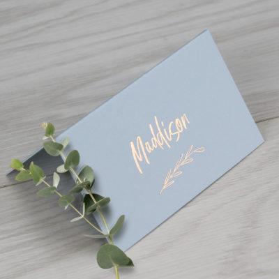 Maddison Place Card