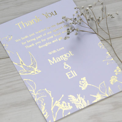 Margot Thank you Card