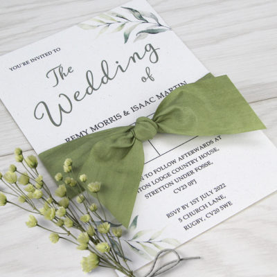 Remy Wedding and Evening Invitation