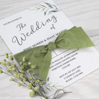 Remy Wedding and Evening Invitation