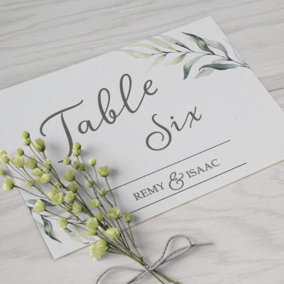 Remy Table Name / Number