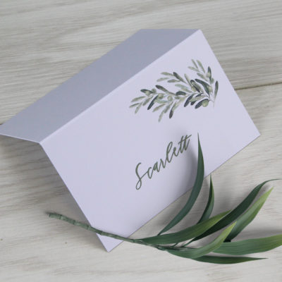 Scarlett Place Card