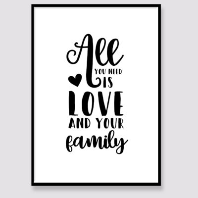 Love and Family Quote