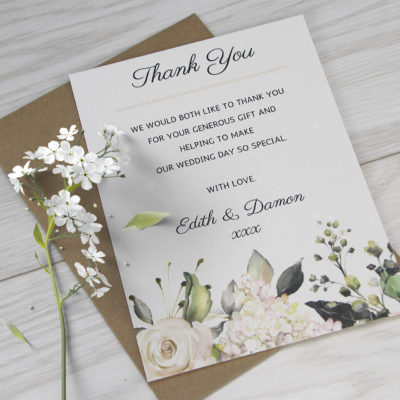 Edith Thank you Card