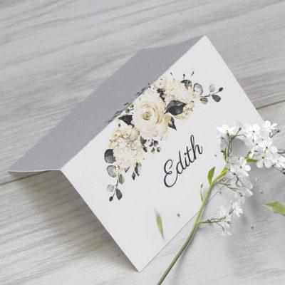 Edith Place Card