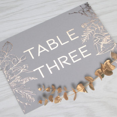 Phoebe Table Name / Number
